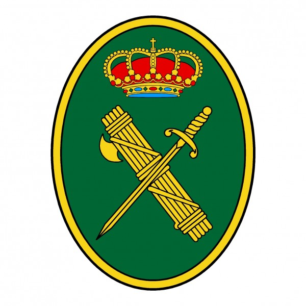 parche escudo guardia civil