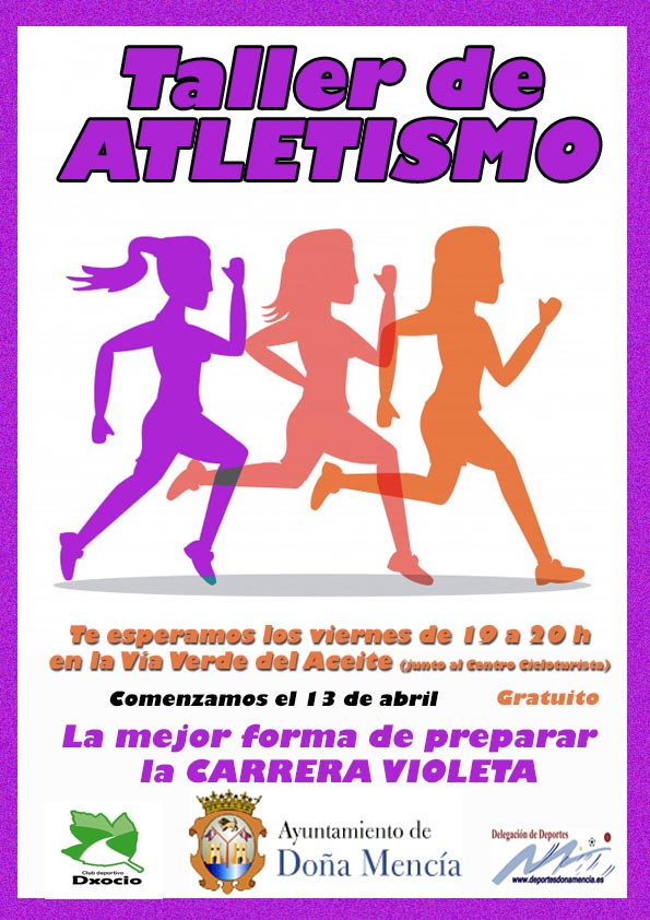 tallerAtletismo mujeres